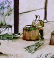 耒阳古法造纸彩沙画